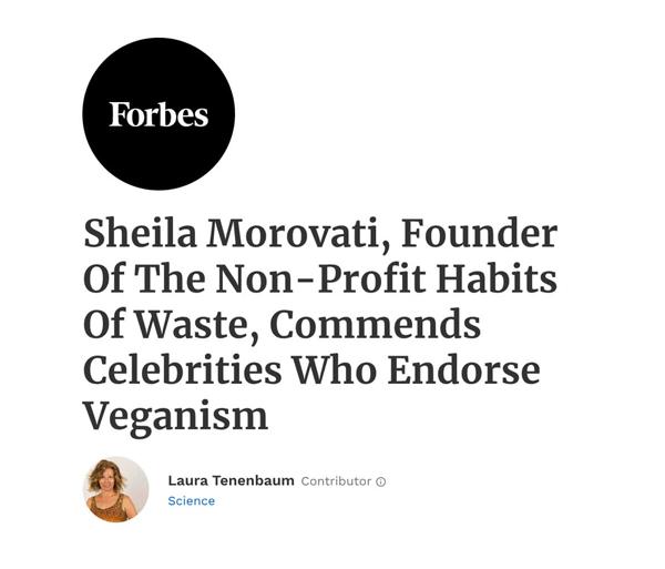 Forbes Veganism